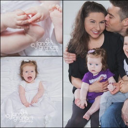 She's 6 months!!! – Baby, Family Photographer – Billings, MT – Montana Photographer